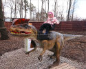 Animatronics Dinosaurs on ride.