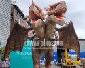 Multi-headed Animatronic Dragons.
