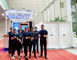 Judcare Portable Ward sRoom Participated in the 14th Annual Meeting of Chinese Hospital Directors