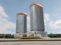 新疆软件园创智大厦千平米LED显示屏