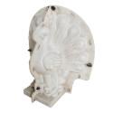 Elegante abs material roman cement plastic pillar mould