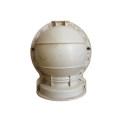 New design plastic decorative used concrete ball molds
