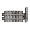 Best selling abs plastic garden fence molds