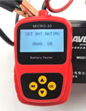 Motorcycle Battery Tester Micro-30