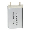 lithium polymer battery 850mah 3.7v polymer battery for GPS DVR