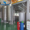 motor oil recycling plant
