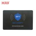 PVC Smart Credit Card Protector Rfid Blocking Card