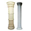 Round concrete roman pillar mold