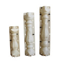 Concrete pillar baluster plastic mould