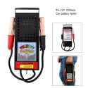 Portable 6V12V Battery Tester Equipment Diagnostic Tool Testador De Charger/ Alternator/ Battery Load Tester Automotive/ Car