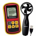 Wind Speed Meter Handheld Anemometer Thermo Anemometer Wind Meter Anemometer 0~45m/s High Accuracy Anemometro