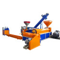 140 hard material plastic recycling granulating machine