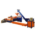 160 hard material plastic recycling granulating machine
