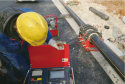 Qindao Xinao gas pipeline worksite QZD160 automatic welding machine