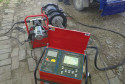 Shenzhen gas pipeline worksite QZD250 automatic welding machine