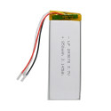 Yabo293078 lithium polymer battery 3.7v 850mah for charger medical device