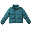 Men's Winter Waterproof Blue Fashion Parka Jacket