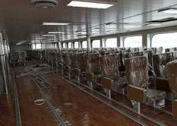 Aluminum Passenger Seats in VIP cabin in Russia