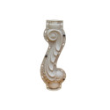 Seahorse precast baluster mold for concrete
