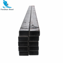 HUAQI hollow 50x50mm black square steel tube for construction