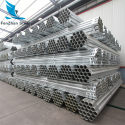 High quality galvanized steel pipe / iron round pipe for construction on sale