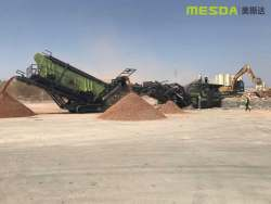 Mesda Mobile Crushing and Screening Equipment is widely used in the field of construction waste treatment.